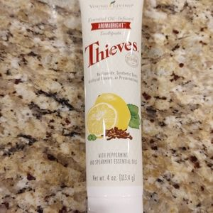 Young Living Thieves toothpaste